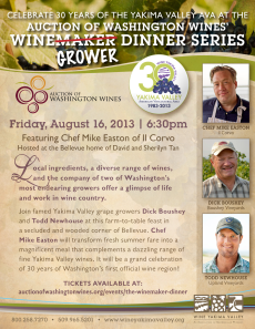 Wine Grower Dinner
