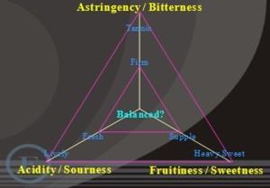 balance wine diagram