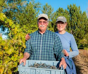 Husband and wife team Clay Mackey and Kay Simon of Chinook Wines (Richard Duval photo)