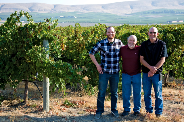 JJ., John, & Scott Williams | Kiona Vineyard